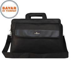Jual Polo Star Tas Kantor Laptop 2In1 Selempang Tenteng Multi Fungsi Pl 2136 17 Original Black Branded
