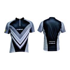 Harga Polygon Jersey Cozmic Short Sleeves Hitam New