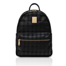 Pommkorea Tas Wanita / Backpack Bag / B Quatre / Woman Bag / Modern Black