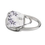 Jual Beli Porcelain Folding Handbag Purse Bag Table Hook Hanger Holder Gift Baru Tiongkok
