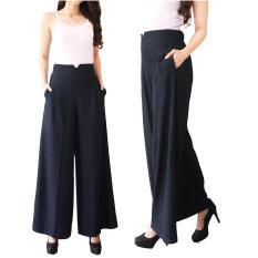 Posey Celana Kulot Denim  / Celana Panjang / Long Pants / Bawahan