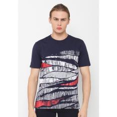 Poshboy T-Shirt Elton Navy