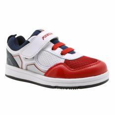 Precise Andro Sepatu Anak - Putih /Merah