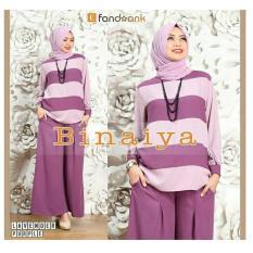 Harga Premierfashionstore Binaiya Set 3In1 Lavender Di Indonesia