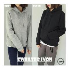 Review Premierfashionstore Sweater Ivon Grey Indonesia