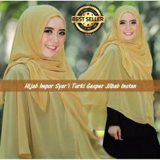 Premium Hijab Impor Syar'i Turki Gesper Jilbab Instan (Jilbab Instant) SALEM - Toko Berkah Online