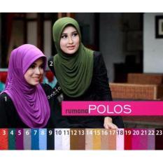 Premium Hijab (Jilbab) Instant Rumana Polos Toko Berkah Online