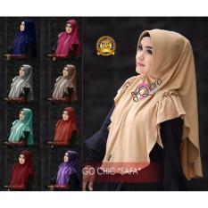 Premium Jilbab (Hijab) Kerudung Instan Bergo Chic Safa Toko Berkah Online