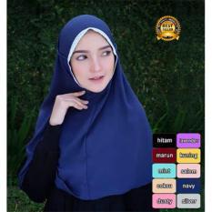 Premium Jilbab (Hijab) Kerudung Instan Bergo Rubiah Renda Toko Berkah Online