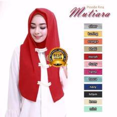 Premium Jilbab (Hijab) Kerudung Instan Hoodie Rina Mutiara Toko Berkah Online