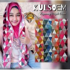 Premium Jilbab (Hijab) Kerudung Instan Hoodie Wajik Glitter Toko Berkah Online