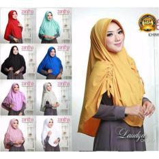 Premium Jilbab (Hijab) Kerudung Instan Khimar Syar'i Jersey Serut Zanitha Toko Berkah Online