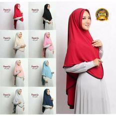 Premium Jilbab (Hijab) Kerudung Instan Khimar Syar'i Pinguin Lis Nonpad Toko Berkah Online