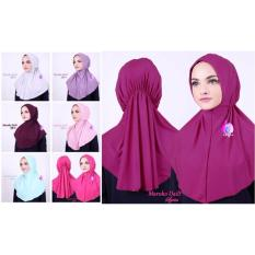 Premium Jilbab (Hijab) Kerudung Instan Maroko Daily Syria Toko Berkah Online