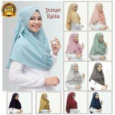 Premium Jilbab (Hijab) Kerudung Instan Raisa Toko Berkah Online