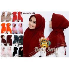 Premium Jilbab (Hijab) Kerudung Instant Daily Overdeck Toko Berkah Online