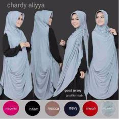 Premium Jilbab (Hijab) Kerudung Instant Khimar Chardy (Cardi) Aliyya Syar'i Toko Berkah Online