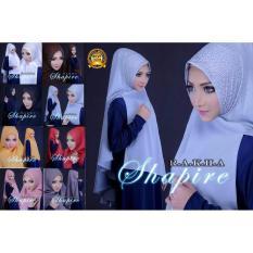 Premium Jilbab (Hijab) Kerudung Instant Khimar Shapire Syar'i Toko Berkah Online