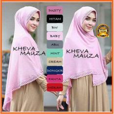 Premium Jilbab (Hijab) Kerudung Instant Khimar Syar'i Kheva Cutting (Size XL) Toko Berkah Online