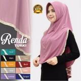 Premium Jilbab Hijab Kerudung Instant Khimar Syar I Renda Turki Pad Antem Toko Berkah Online Premium Diskon