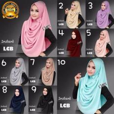 Promo Premium Jilbab Hijab Kerudung Instant Lcb Lulu Mihyu Premium