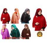 Iklan Premium Jilbab Hijab Kerudung Instant Pet Chiffon 2 Tone Lulu Mihyu