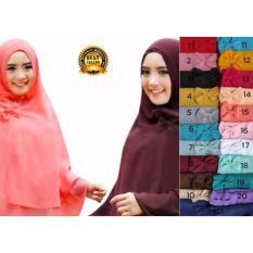 Toko Premium Jilbab Hijab Kerudung Instant Syar I Khimar Dhea Pita Lulu Mihyu Lengkap