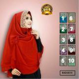 Spesifikasi Premium Jilbab Hijab Kerudung Instant Syar I Khimar Elfira Lulu Mihyu Yang Bagus Dan Murah