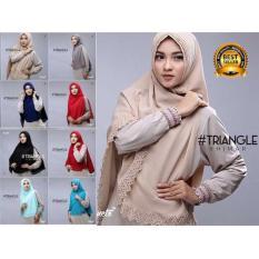 Premium Jilbab (HIjab) Kerudung Instant Syar'i Khimar Triangle Cutting Toko Berkah Online