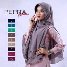 Premium Jilbab (Hijab) Khimar Syar'i Pepita Toko Berkah Online