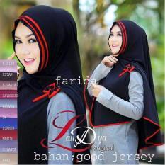 Premium Jilbab (Hijab) Syari Instant Khimar Syar'i Farida Toko Berkah Online