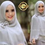 Jual Beli Online Premium Jilbab Syar I Tanpa Pet Model Khimar Dhea Free Bross Pita Putih Toko Berkah Online