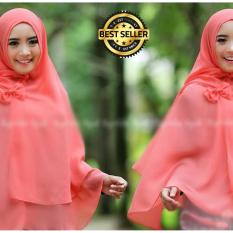 Premium Jilbab Syar'i Tanpa Pet Model Khimar Dhea FREE Bross Pita - SALEM Toko Berkah Online
