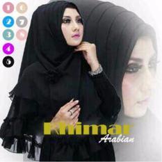 Premium Kerudung (Hijab) Instant Khimar Arabian Toko Berkah Online
