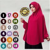 Harga Premium Khadijah Bergo Lengan Bahan Jersey Hijab Jilbab Syar I Instant Lulu Mihyu Termurah