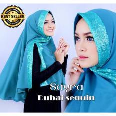 Premium Khimar Dubai Sequin Diamond – TOSCA Toko Berkah Online