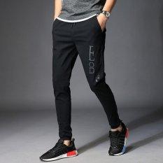 Harga Premium Men S Leisure Pant Outdoor Celana Panjang Olahraga Celana Pinggang Elastis Cepat Kering Youth Trunks Longgar Running Pants Intl Terbaik