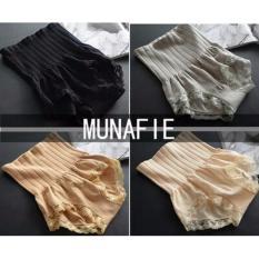 Ulasan Lengkap Premium Quality Munafie Slim Pant Celana Korset Grade A 80 Gram 100 Original Bundle 3 In 1