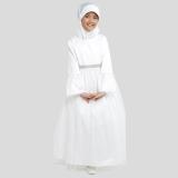 Harga Pretty G*rl Muslim Dress Mala Pakaian Anak Dress Casual Anak Perempuan White Yg Bagus
