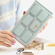 Harga Vernyx Woman S Shape Of Card Wallet Do458 Blue Dompet Wanita Lengkap