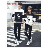 Beli Prettyladdies Sweater Couple Sweater Pasangan Rusa L Maron L Black L Turkis L Navy L Good Quality Seken