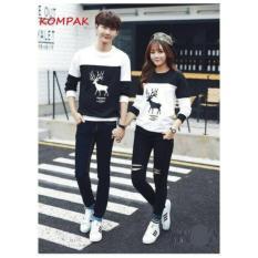 Jual Beli Online Prettyladdies Sweater Couple Sweater Pasangan Rusa L Maron L Black L Turkis L Navy L Good Quality