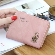 Review Tentang Prettyzys Mini Wanita Dompet Kecil Wallet Merah Muda Tas Tas Wanita Dompet Wanita