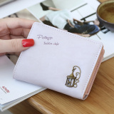 Jual Prettyzys Mini Wanita Dompet Kecil Wallet Ungu Ori