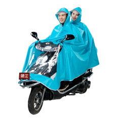 Wanita Sepeda Listrik Dewasa Two Jas Hujan Mobil Listrik Jas Hujan (Tidak Ada Cermin Biru