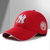 Spek Topi Bisbol Pelindung Terik Matahari Santai Versi Korea Merah Merah Tiongkok