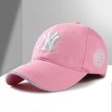 Harga Topi Bisbol Pelindung Terik Matahari Santai Versi Korea Merah Muda Merah Muda Tiongkok
