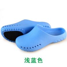 Berapa Harga Pria Dan Wanita Pertama Tiga Generasi Pelindung Laboratorium Operasi Sandal Sepatu Cahaya Biru Sepatu Wanita Sandal Wanita Oem Di Tiongkok