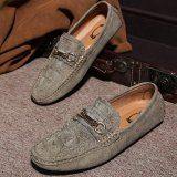 Top 10 Pria Loafers Bulat Kaki Memakai Sepatu Datar Nyaman Sepatu Dril International Online