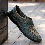 Situs Review Pria Fashion Sepatu Kets Sepatu Sebab Kaki Dingin Loafers Hijau